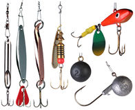 Fishing baits. Royalty Free Stock Photography