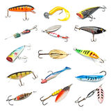 Fishing Baits Collection Stock Image