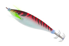 Fishing baits isolated on white Stock Photography