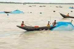 Fishing in Bangladesh Stock Images