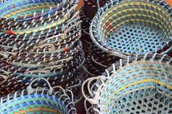Fishing Basket Royalty Free Stock Images