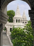 Fishing bastion, Budapest, Hungary. Sight of Hungary is Fishing bastion, spring Royalty Free Stock Photo