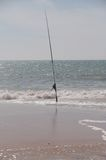 Fishing beach ocean Stock Photos