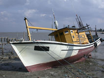 Fishing boat 1. Fishing boat, Malaysia royalty free stock image