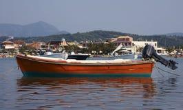 Fishing boat. In Corfu Greece Royalty Free Stock Photos