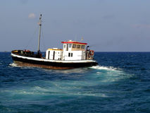 Fishing Boat. In Malta EUrope Royalty Free Stock Photos