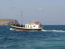 Fishing Boat. In Malta EUrope Stock Photo