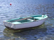 Fishing boat. Small fishing boat at sea Stock Images