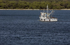 Fishing boat. Is ready for fish catch some in European sea Royalty Free Stock Photography