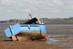 Fishing Boat. A fishing Boat in the Bay of Exmouth, Devon Royalty Free Stock Photography