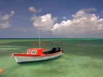 Fishing Boat. Colorful fishing boat Royalty Free Stock Images
