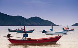 Fishing boat. At Chao Lao Beach Chantaburi Thailand Stock Photography