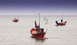 Fishing boat. At Chao Lao Beach Chantaburi Thailand Royalty Free Stock Image