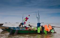 Fishing boat. At Chao Lao Beach Chantaburi Thailand Royalty Free Stock Photos