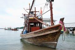 Fishing boat. At Sri Chung Island Thailand Stock Image