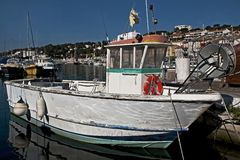 The fishing boat Royalty Free Stock Photography