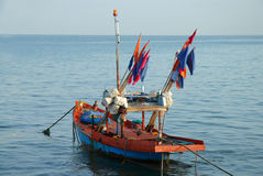Fishing boat . Royalty Free Stock Images