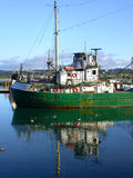 Fishing boat. A fishing boat on the Central Oregon Coast royalty free stock image