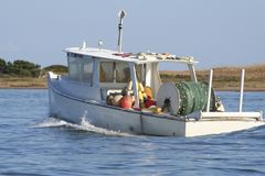 Fishing Boat. Commercial Fishing Boat Royalty Free Stock Photography