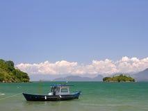 Fishing boat. Angra dos Reis - Rio de Janeiro - Brazil stock images