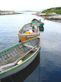 Fishing boat. Of Peggy's Cove in Nova Scotia, Canada stock photography