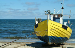 Fishing boat. Photo of old fishing boat (Baltic Sea Stock Photos
