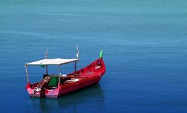 Fishing boat. On the sea Royalty Free Stock Images
