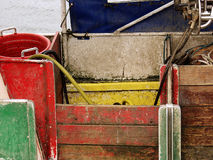 Fishing boat. In denmark royalty free stock images