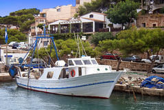 Fishing Boat. In Mallorca (Spain Stock Photos