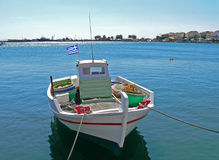 Greek Fishing-boat Stock Image