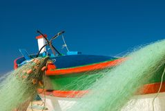 Fishing Boat Abstract Royalty Free Stock Photography