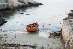 Fishing boat anchored. Image of fishing boat anchored Royalty Free Stock Images