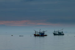 Fishing boat in Andaman sea Thailand Stock Images