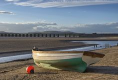Fishing boat at Arnside Royalty Free Stock Images