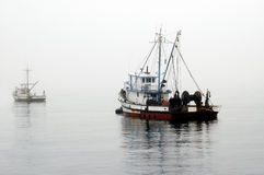 Fishing Boat Awaits Royalty Free Stock Photos