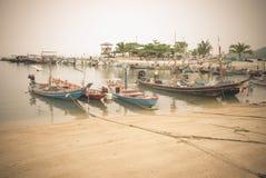Fishing Boat Awaits Stock Photo