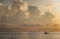 Fishing Boat, Bali, Indonesia. Stock Image