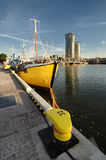 Fishing boat on the Baltic, Gdynia ,Poland Royalty Free Stock Photos