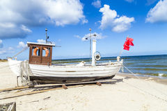 Fishing boat on the Baltic Sea Royalty Free Stock Image