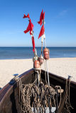 Fishing boat on the beach, Baltic Sea, Germany Royalty Free Stock Photography
