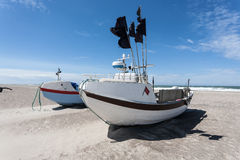 Fishing boat. Stock Image