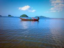 Fishing boat. On the beach Thailand Stock Image
