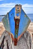 Fishing boat at Black Sea Stock Photos