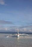 Fishing boat on Bohol Island royalty free stock image