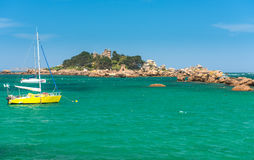 Fishing boat in Bretagne, France Royalty Free Stock Images