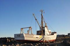Fishing boat 'BULDUR'. Keflavík. Iceland. Stock Photo