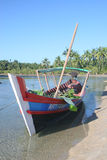 Fishing boat Burma, Stock Photography