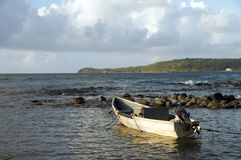 Fishing boat Caribbean Sea Corn Island Nicaragua Royalty Free Stock Image