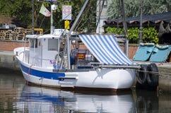 Fishing boat in Italy Royalty Free Stock Photos
