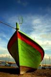 Fishing boat. At Cherating Beach in Kuantan, east coast of Malaysia Stock Photos